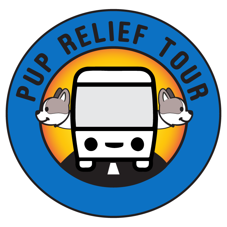 JOIN THE PUP RELIEF TOUR